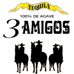 TEQUILA 3 AMIGOS ロゴ