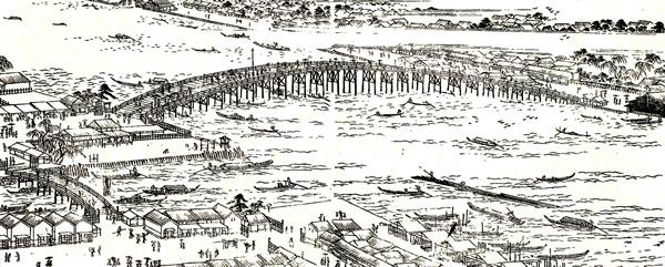 江戸の橋全景