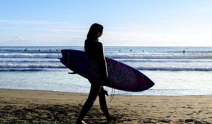 サーフィンと花粉症とビタミンDの関係