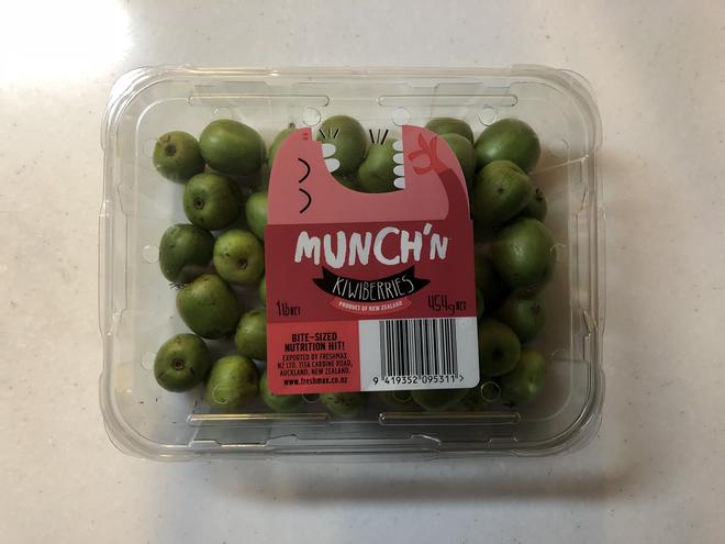 コストコで売られているベビーキウイの「kiwi berries」